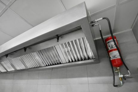 Extinción en cocinas industriales