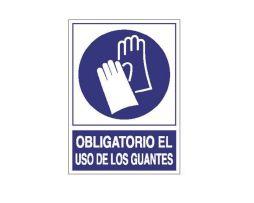 Obligatorio uso guantes