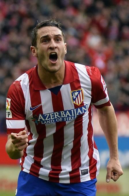 Koke é destaque no Atlético de Madri