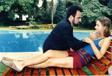 Karam com Vera Zimmermann em 'Meu bem meu mau'