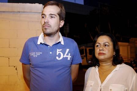 Os defensores públicos Rodrigo Azambuja e Eufrasia Souza