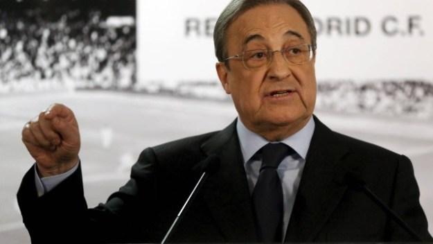 Presidente do Real Madrid, Florentino Pérez, não poderá contratar jogadores por duas janelas de transferências após punição da Fifa