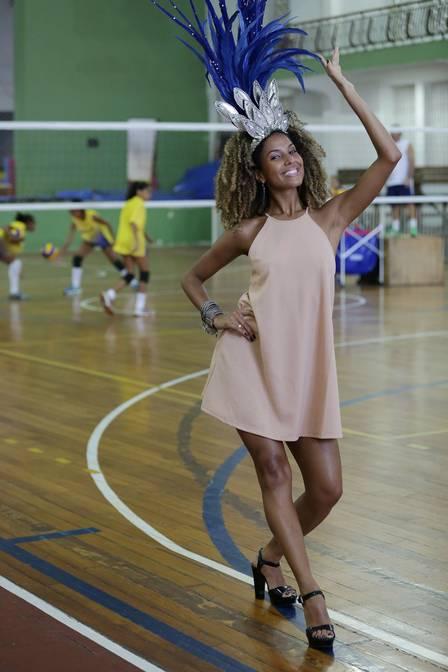 Globeleza Érika Moura diz que ainda está se acostumando com a fama