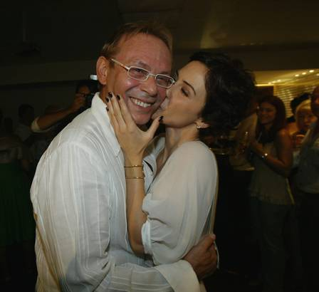Guilhermina e José Wilker
