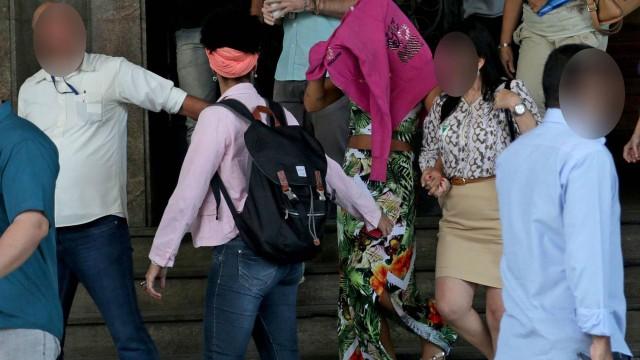 A jovem deixa a Secretaria de Direitos Humanos