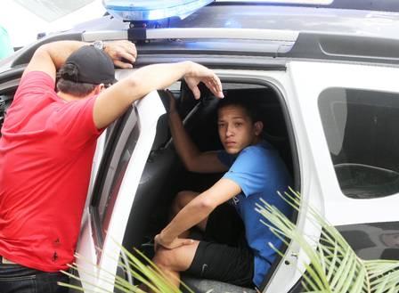 Lucas também foi preso