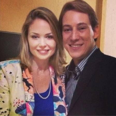 Bianca Toledo e o marido Felipe