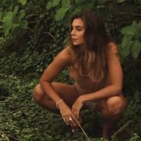 Letícia Datena mostra quase tudo em making of de ensaio nu: 'É gostoso ficar pelada'