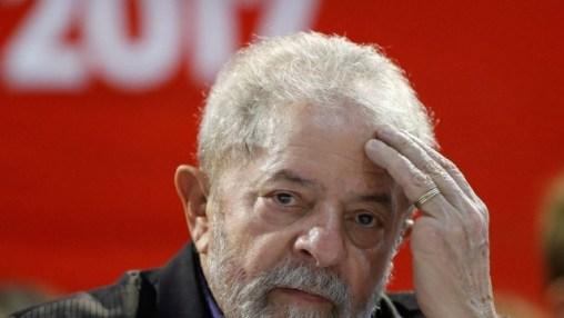 Ex-presidente Lulua, em congresso em São Paulo