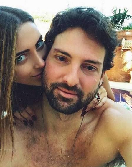 Bárbara Cruz da Cunha com o namorado, publicitário Pedro Annecchini Bleuler