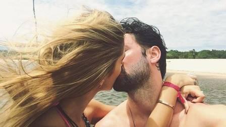 Bárbara Cruz da Cunha com o namorado, o publicitário Pedro Annecchini Bleuler