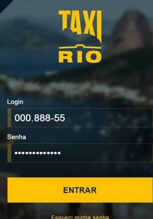 Aplicativo Táxi.Rio
