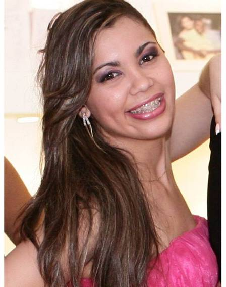 Luana Sales, suspeita de ser a mandante do crime