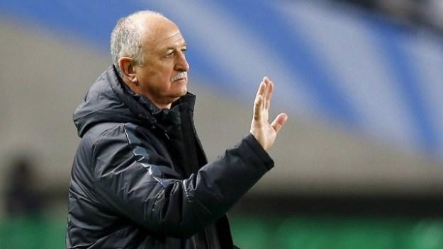Felipão tem contrato com o Guangzhou até novembro