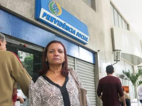 A doméstica Enivalda de Castro sofre de asma