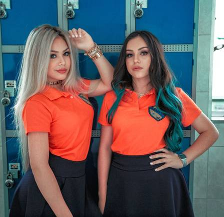 Melody vai lançar clipe com a irmã Bella, de 13 anos
