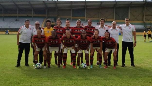 Flamengo feminino tem bom começo no Brasileirão