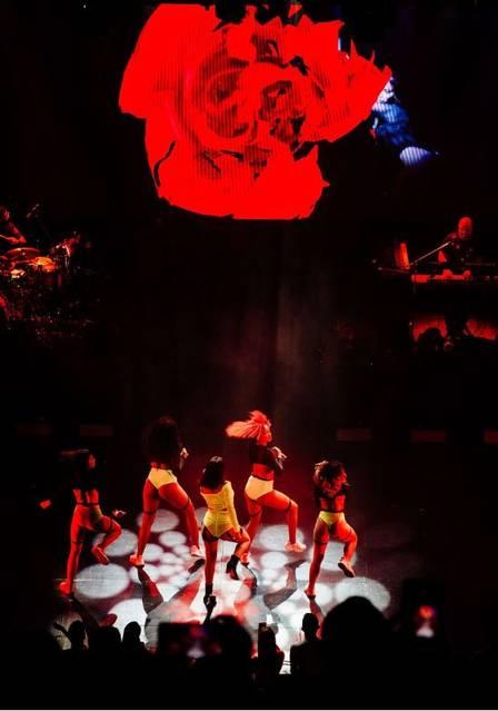 Anitta faz show na Argentina