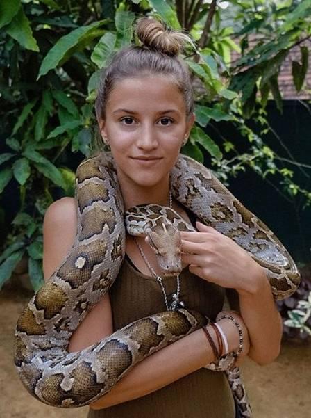 Lexie em Colombo (Sri Lanka)