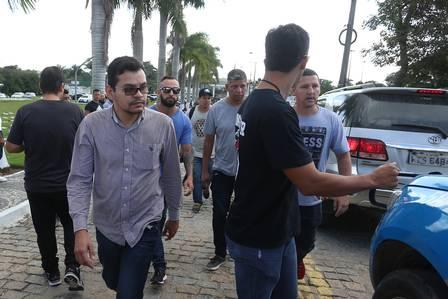 Flávio está preso na DH de Niterói