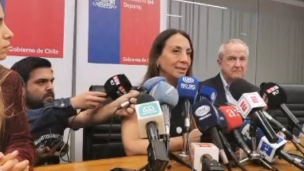 Cecilia Perez, ministra do Esporte