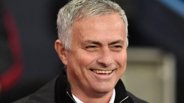 O técnico José Mourinho