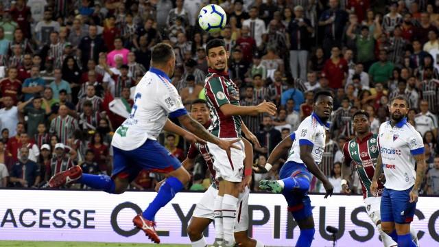 Fluminense empatou com o Fortaleza no Maracanã