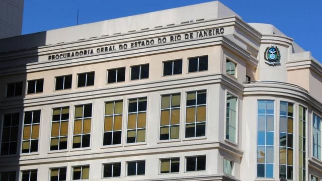 O prédio da PGE-RJ fica no Centro do Rio