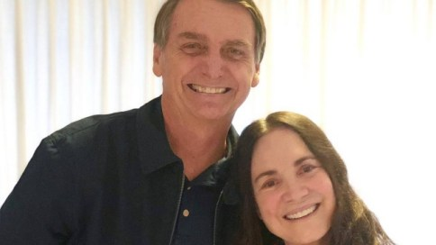 Bolsonaro convidou a atriz Regina Duarte para Secretaria da Cultura
