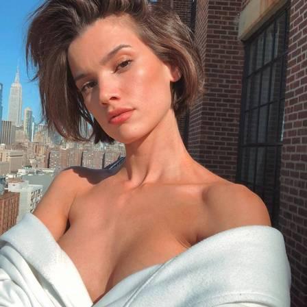 Eloisa, durante temporada em Nova York