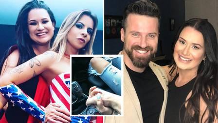 Amiga da mulher de sertanejo Marlon assumiu romance com o cantor na web há uma semana