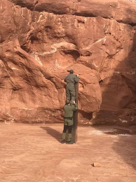 Monolith found in Utah desert
