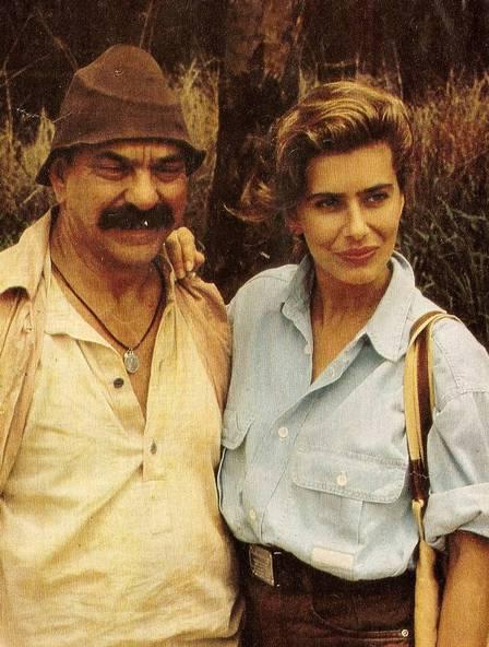 Lima Duarte and Maitê Proença acted together; he says they had romance