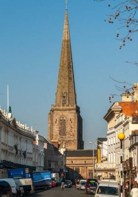 Igreja de Todos os Santos, em Hereford (Inglaterra)