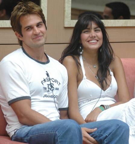 Rafael e Mariana, casal no 'BBB 6'