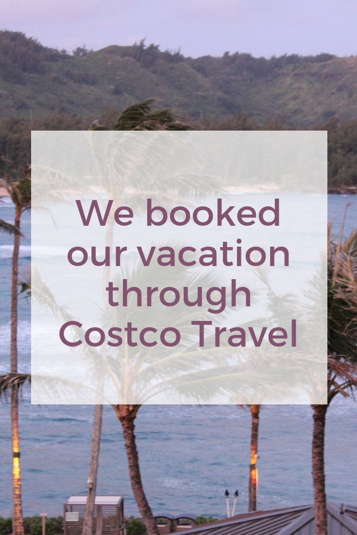 We booked our vacation through Costco Travel - Extra Black Olives