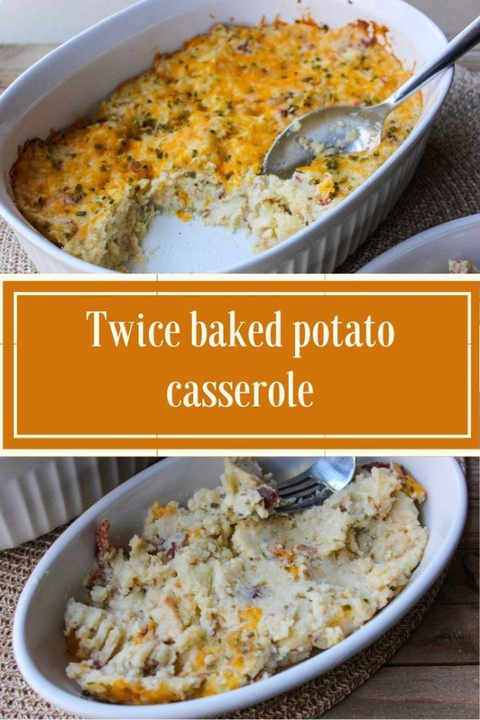 Twice Baked Potato Casserole Extra Black Olives