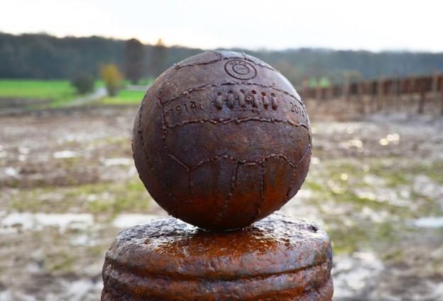 Futebol foi ponto máximo da Trégua de Natal, um cessar-fogo em meio à Primeira Guerra Mundial.