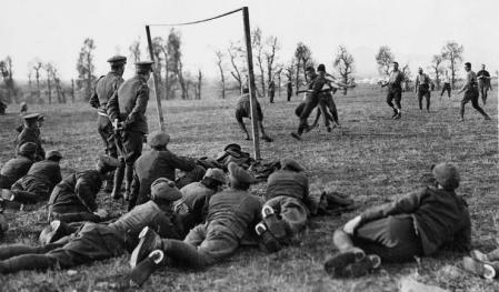 Futebol na Trégua de Natal da 1ª Guerra