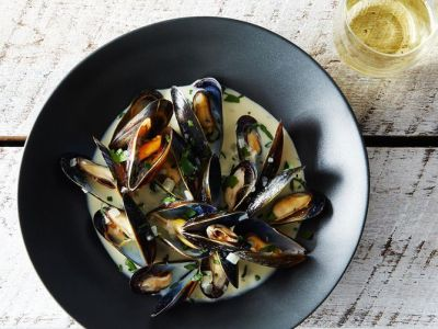 Mussels Dijonnaise from food52