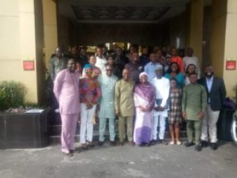 Group photograph of participants at the event