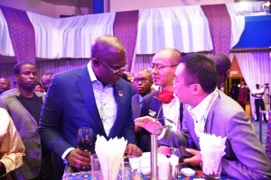 Honorable Minister of State for Petroleum Resources, Chief Timipre Sylva and H.E. Dr. Sun Xiansheng, Secretary-General, International Energy Forum (IEF).