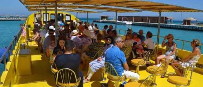 Glasbodenboot hurghada ausflug ab hurghada Semisubmarine ab-Hurghada