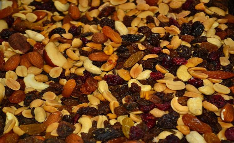 4. trail mix