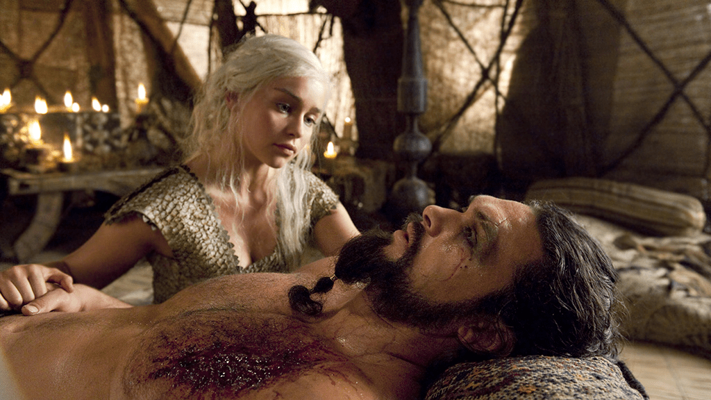 drogo-dany-khal-drogo-infected-wound