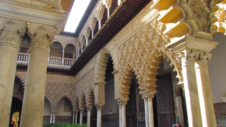 The architecture is Moorish in heritage but inherently Spanish in the southern parts of the country.