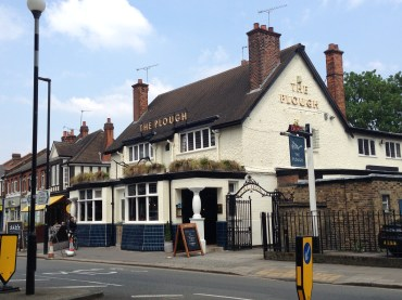 The Plough, first built in 1722, today.