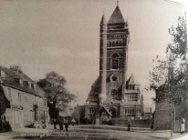 St. Mary's Church, Ealing circa 1905.