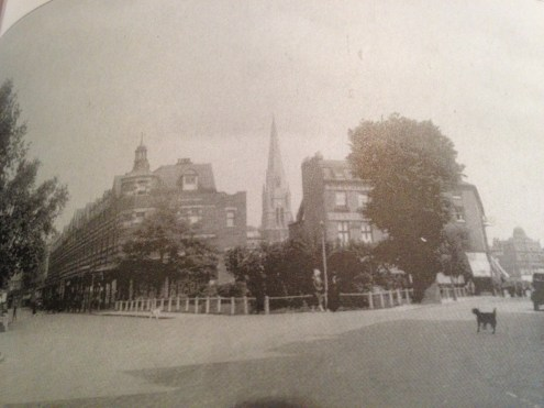 Bond Street and High Street Ealing in 1920.