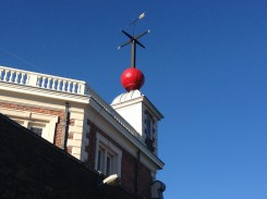 The red time ball strikes daily at 1pm.